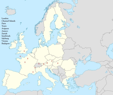 London to Vienna