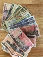 Riel for the Market. 4035 Riel = $US1